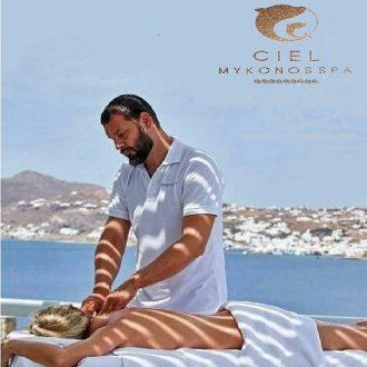 CIEL Mykonos Spa - massage